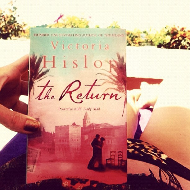 Having finished my 1st holiday read: Philip Larkin's 1940s 'Jill' and thoroughly (surprisingly) enjoyed it, I'm about to start Victoria Hislop's second book: 'The Return' after thoroughly enjoying her fabulous debut novel 'The Island'. #currentlyreading  (Taken with  Instagram )