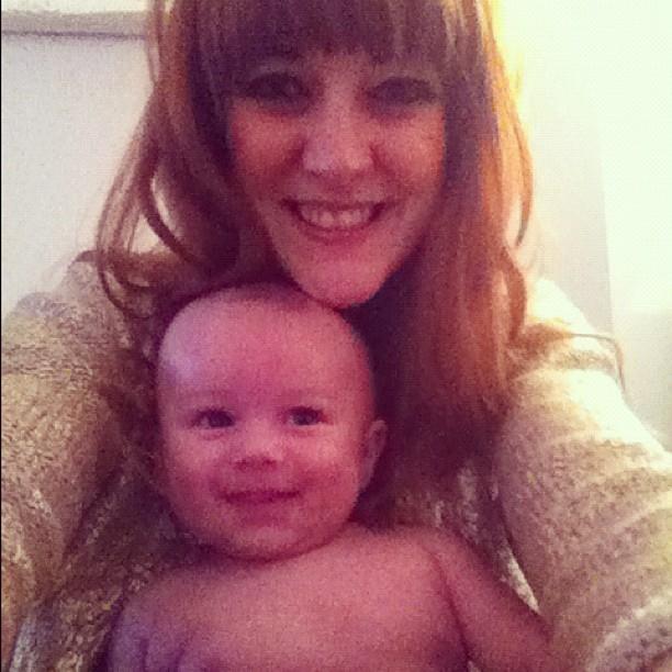How cute is this little fella! Meet Woody Kavaney our newest family member. #12weeks #baby #boy (Taken with  instagram )
