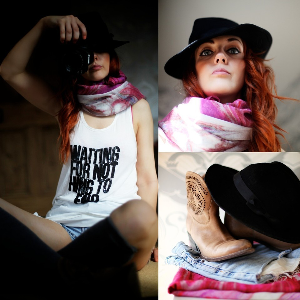 Bologna Silk Scarf // I'm Your Girl Your My Man  (by  Lucie Kerley )
