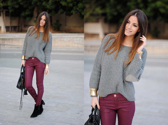 Burgundy Pants  (by  Zina CH )