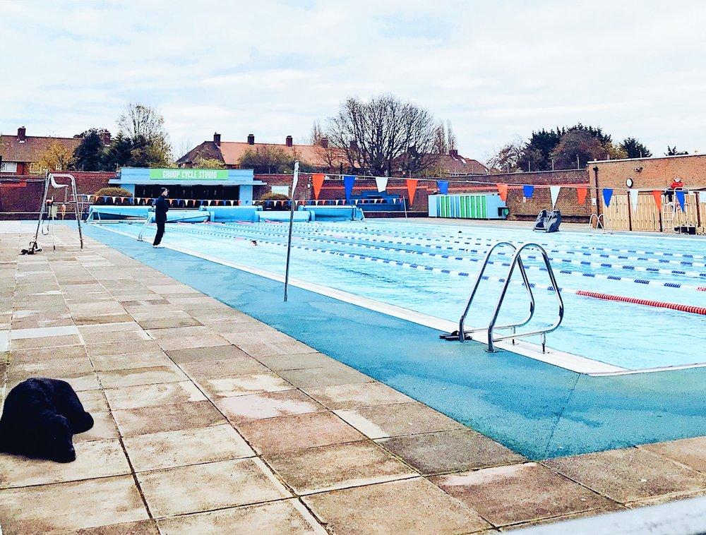 Charlton Lido 50m Swimming Pool
