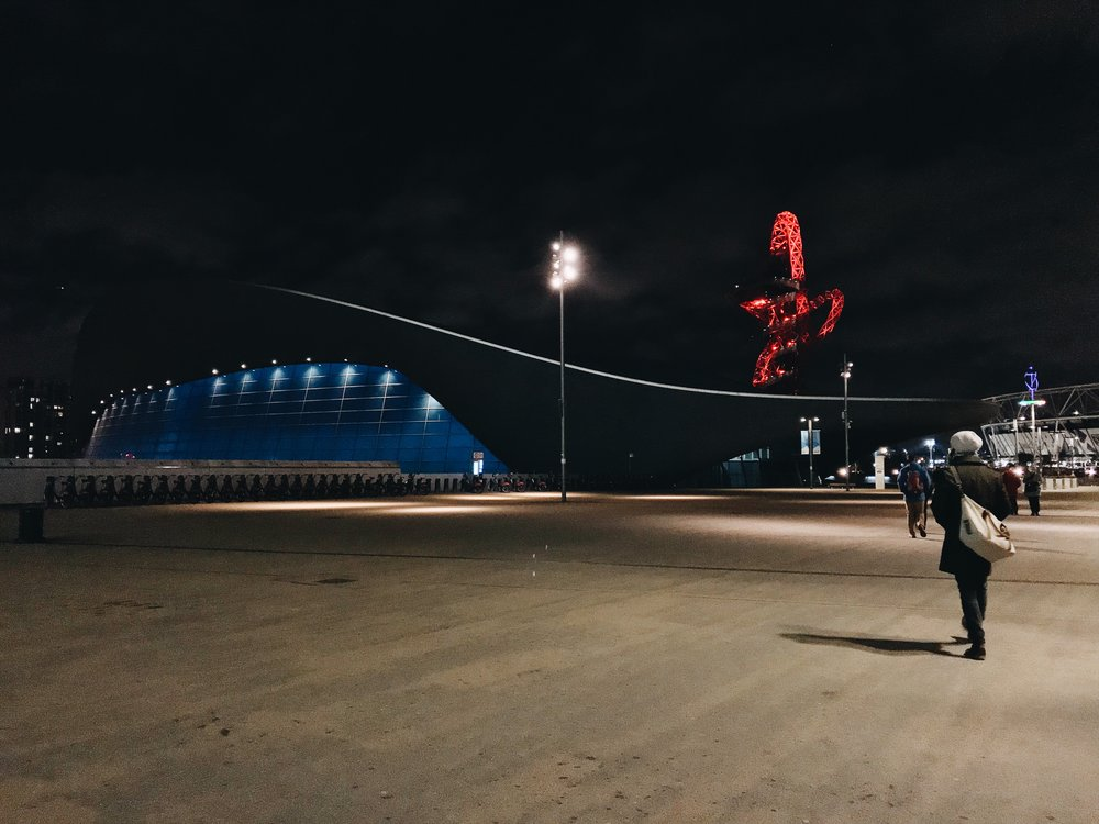 We enjoyed a swim at London Aquatics Centre, Stratford – home to the London Olympics and now  Tom Daley's Diving Academy.