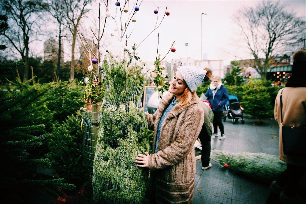 Blogger Lucie Loves Christmas Tree