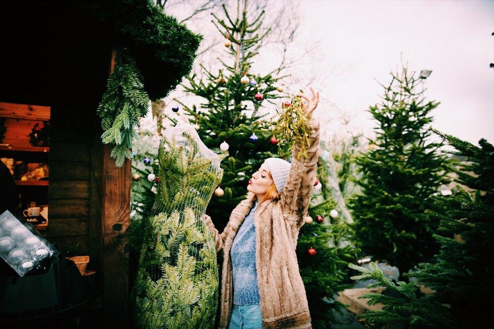 Lucie Loves Christmas Misteltoe