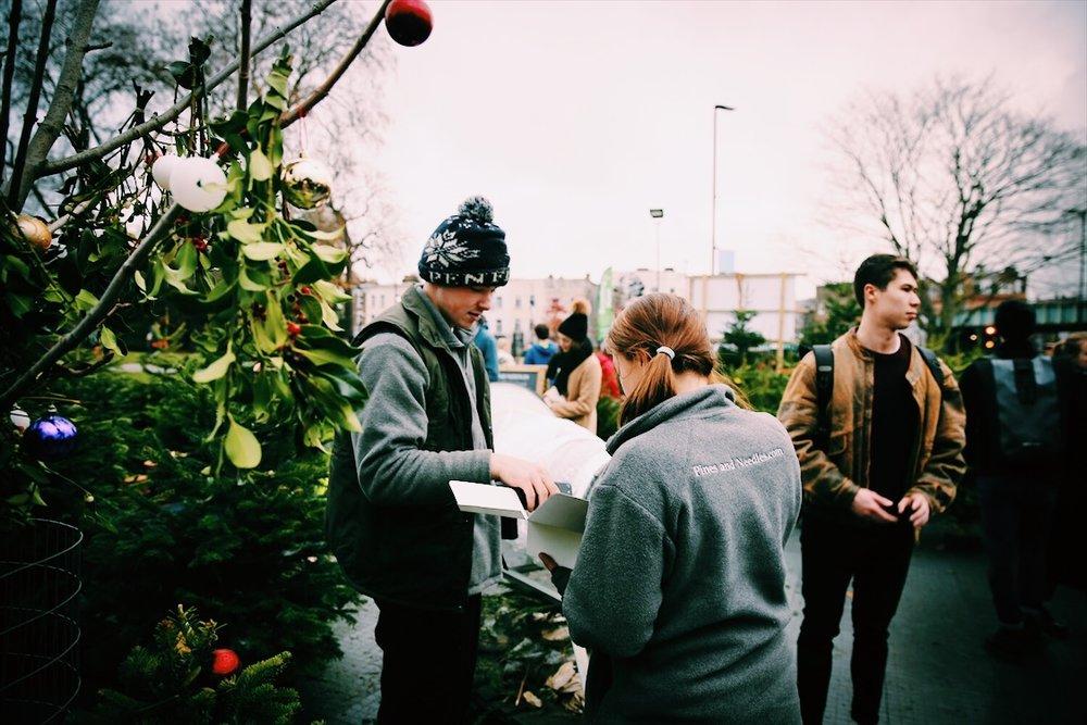 Christmas Tree Store London
