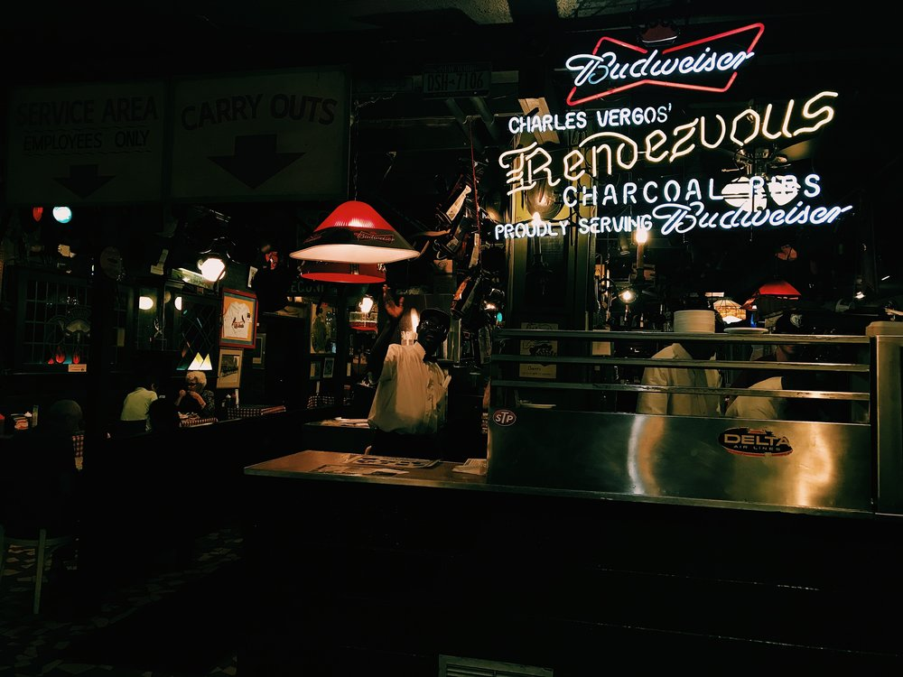 Dinner @ Rendezvous BBQ, Memphis