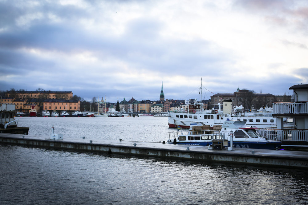 It goes dark around 3pm in Stockholm in the Winter months, so be sure to head out early to see the city in the daylight