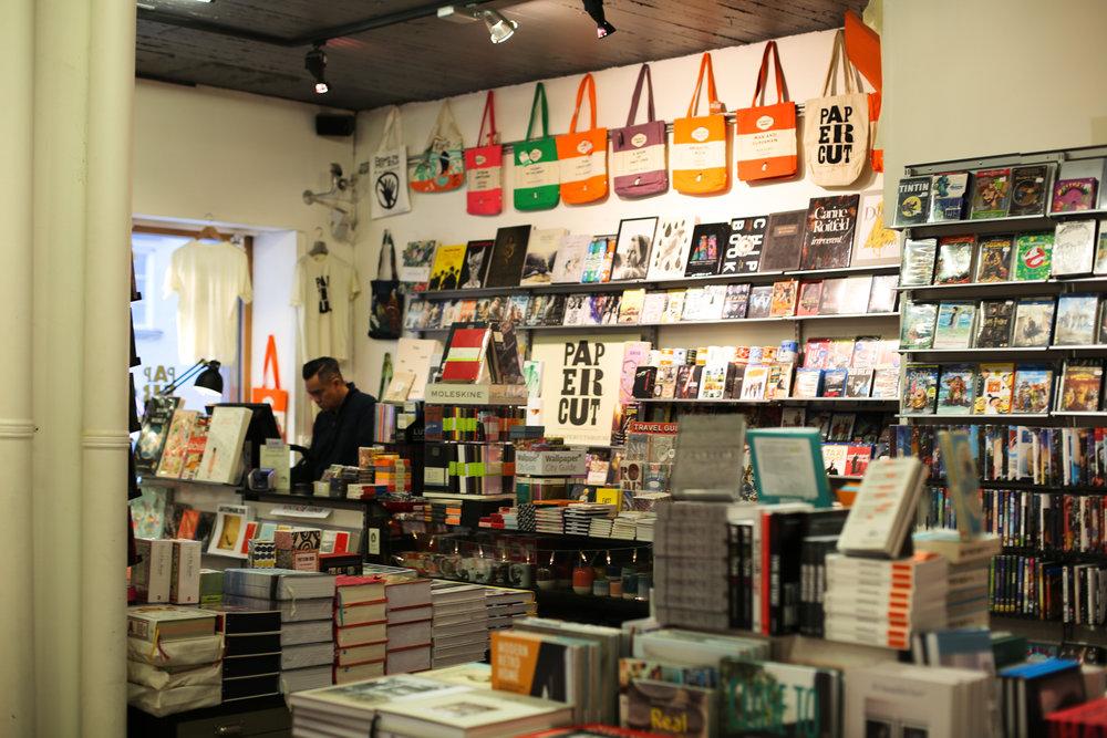 Papercut books & magazines, Stockholm