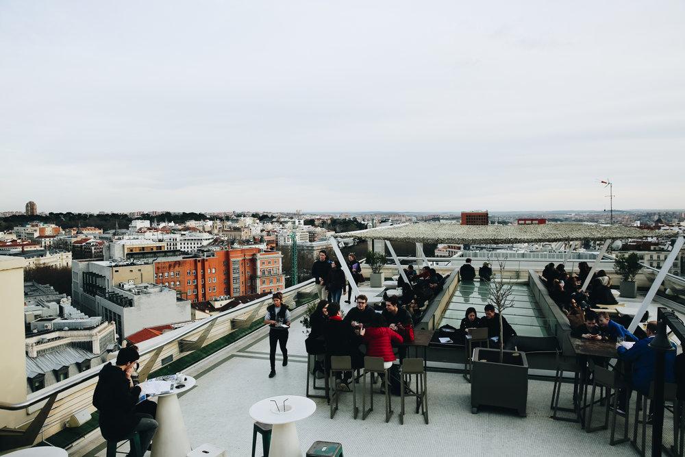 Tartan Roof Terrace, Madrid