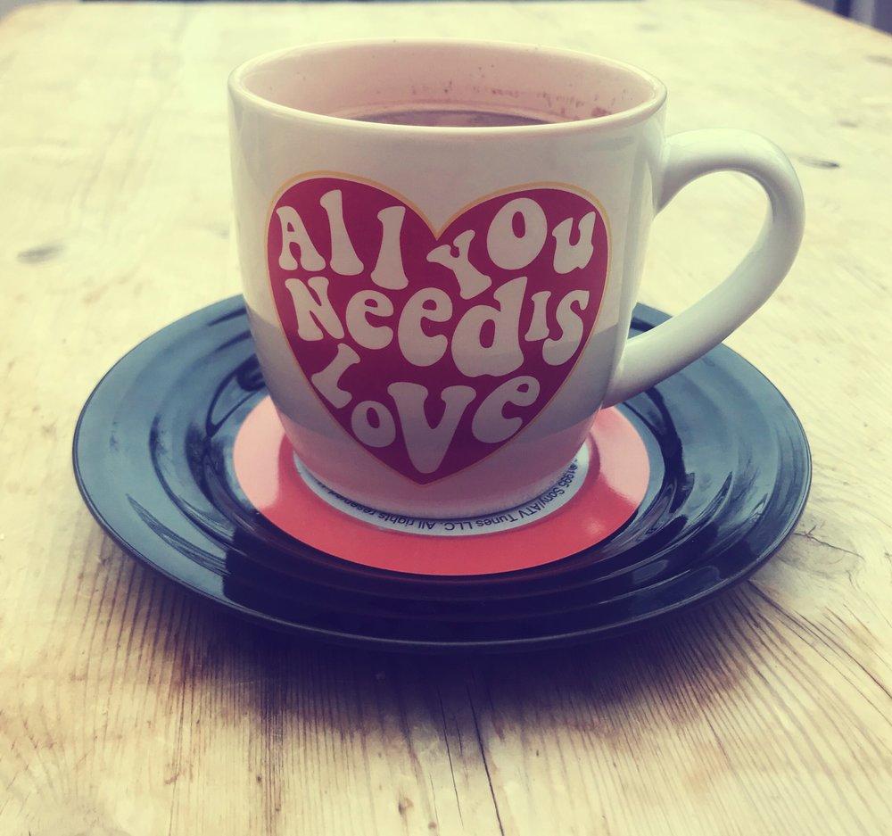 Beatles Love Mug