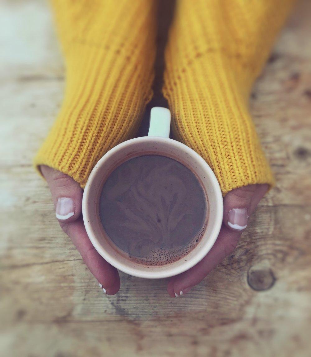 Hot chocolate self love