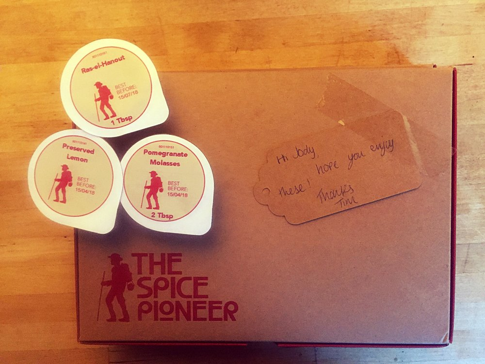 The Spice Pioneer Moroccan box