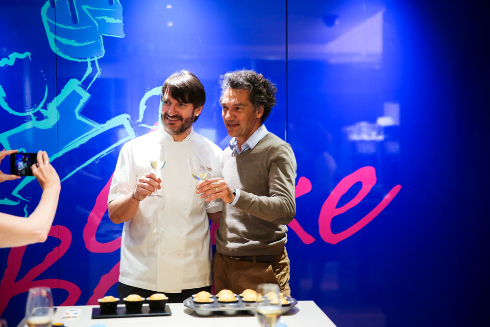 Eric Lanlard and Jean-Claude Mas