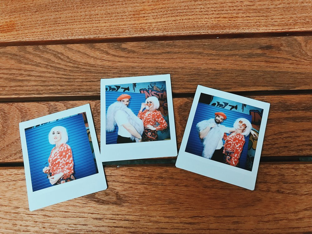 Lucie Loves Fashion Blogger Instax SQ6