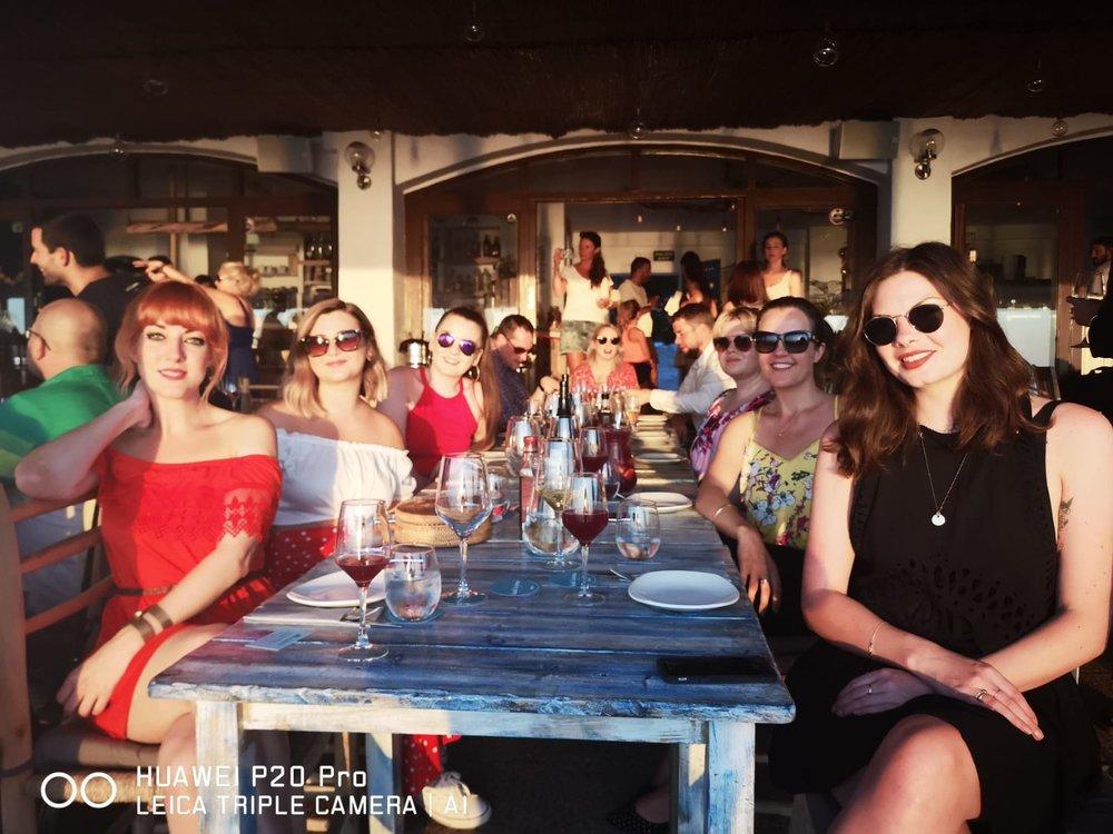 Dinner at  La Torre, Ibiza