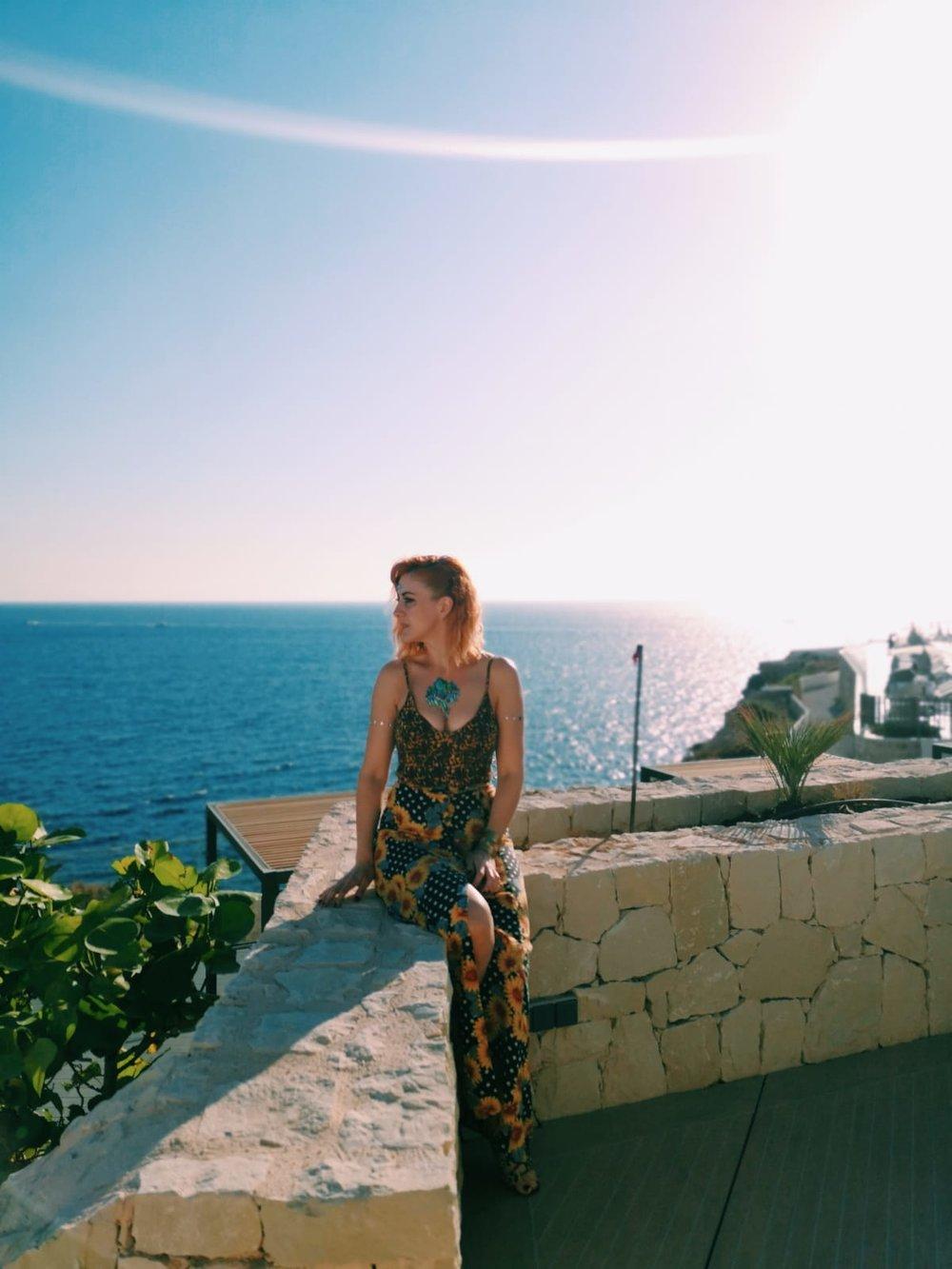 Shot during golden hour at  7 Pines Resort Ibiza