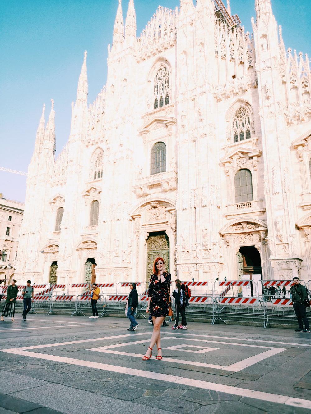 Lucie Loves Milan Duomo