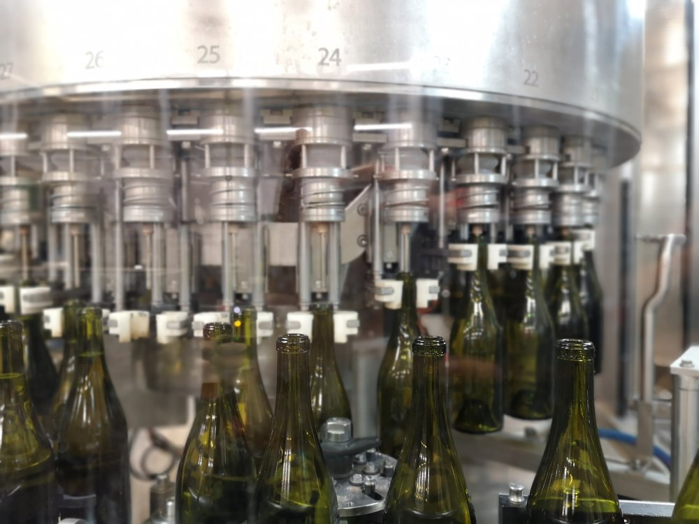 Sparkling wine production Paul Mas