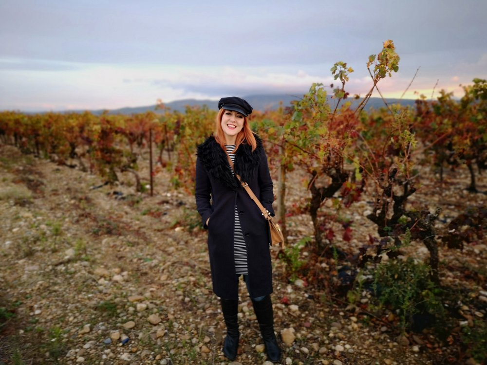 Lucie Loves Wine and Food Blogger