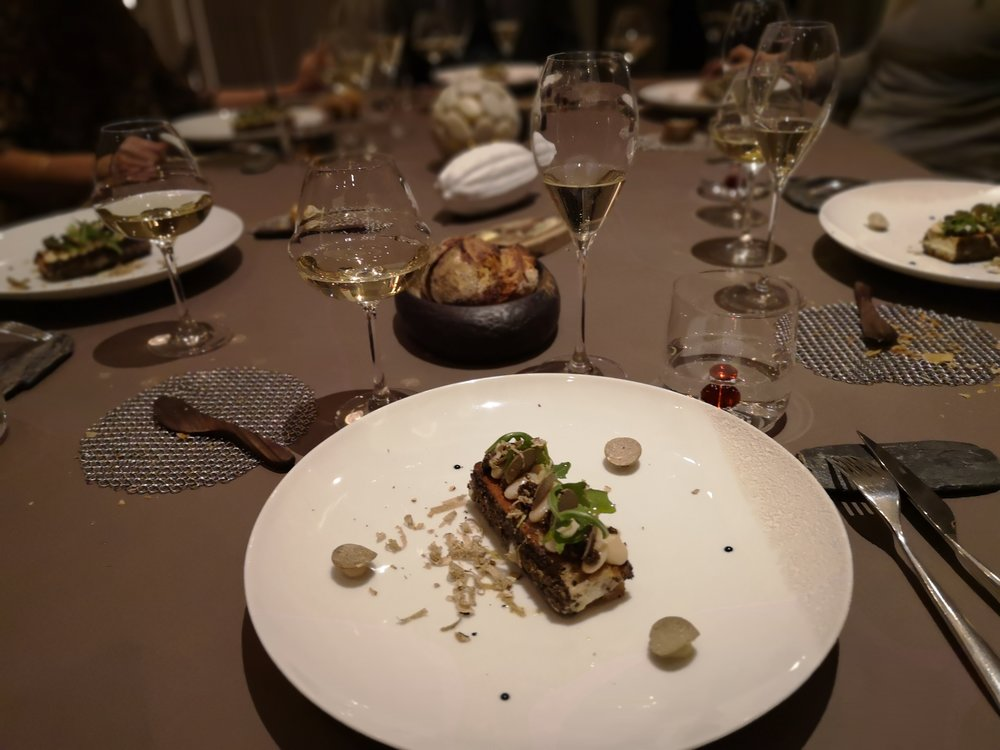 Le Parc Dinner at Franck Putelat