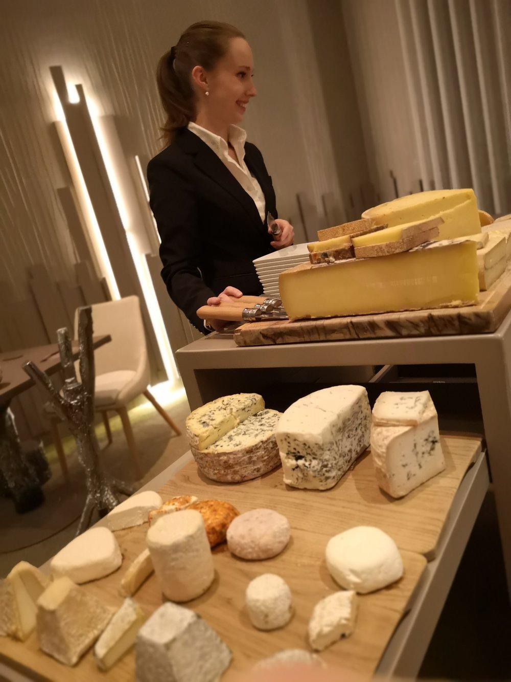 Cheese Selection Le Parc Franck Putelat