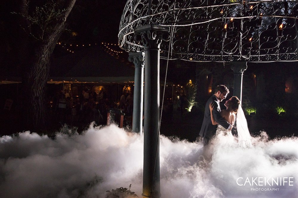 Ask about the Nimbus cloud effect for your first dance...