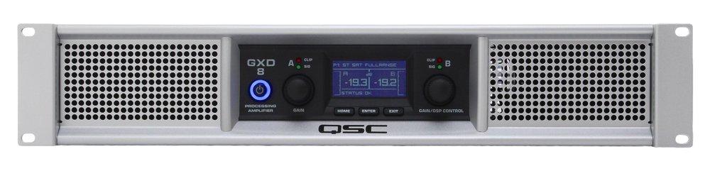 QSC GXD8 Amplifier -