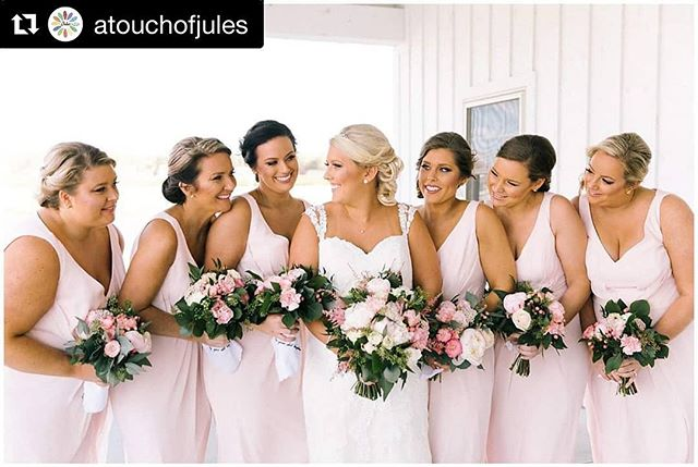#Repost @atouchofjules with @get_repost ・・・ Happy International Woman's Day 2019....AND it's FRIDAY!! #girlsquad #bosslady #believeinchange #sticktogether #findyourgirlgang  And Thank You to our girl squad of professionals for putting this day together, Tap for Vendors💙 (plus instagramless, #wedding #autheticweddings #easternshorewedding #marylandweddings #barnwedding #kylanbarn