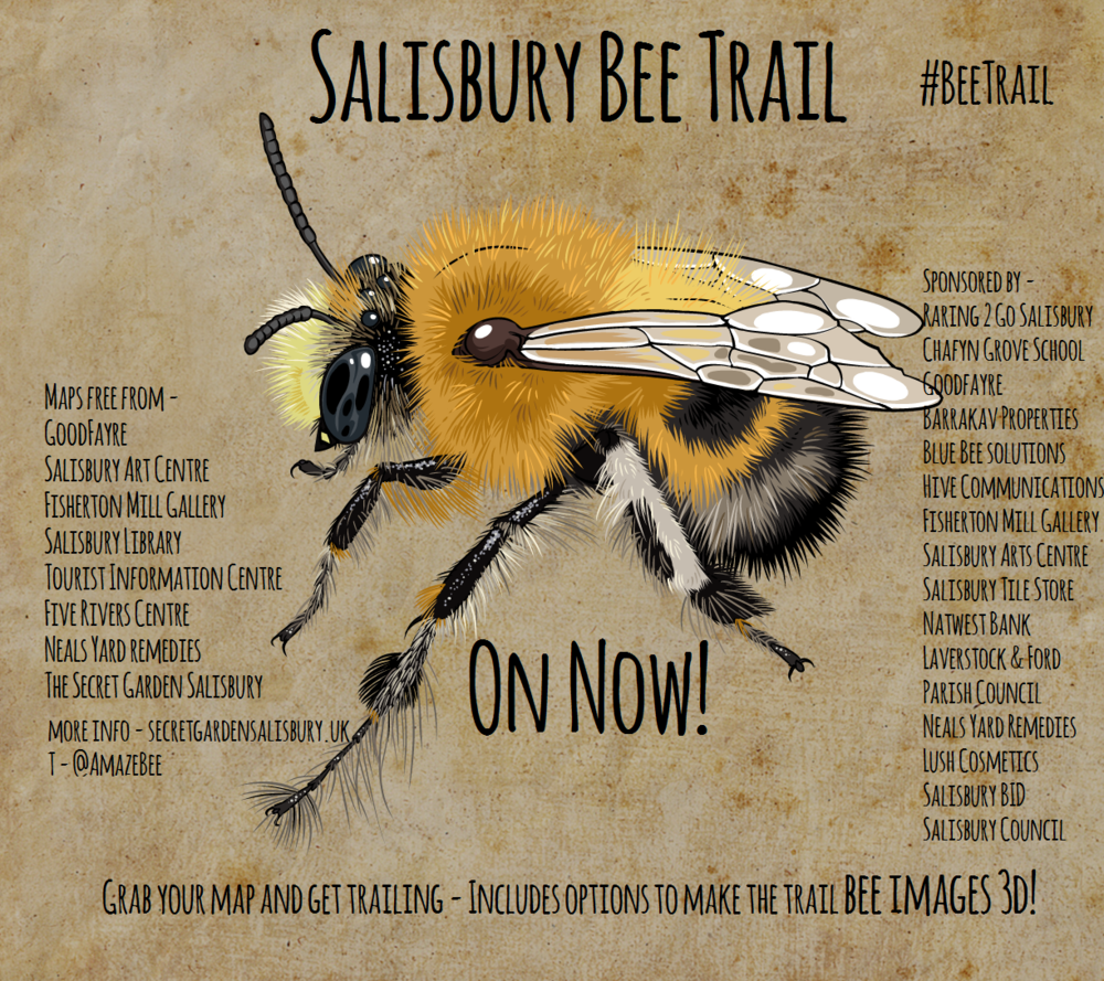 Anthophora Plumipes - Bee Trail on now poster.png