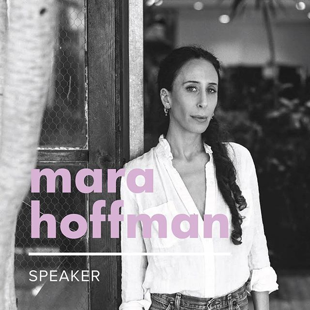 Our first In Good Company 2018 speaker announcement is...drumroll...Mara Hoffman! 💥 The designer & mother to 7-year-old Joaquin founded her eponymous company (known for its vibrant colors & prints) in 2000 while still a student at Parsons. Three years ago, Mara pivoted the aesthetic direction & production practices of her brand, focusing on a more sustainable & transparent approach. This change was heavily inspired by motherhood & a newfound passion for protecting the earth her son's generation will inherit. Perhaps unsurprisingly, the Mara Hoffman label is now more in demand than ever. 🌎🌈 #ingoodcompany