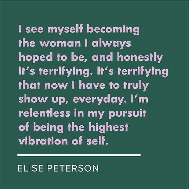 IGC 2018 speaker @eliserpeterson on how she's felt her identity shift after giving birth to her son 8 months ago, to @mothermag. 💚We're so hyped to have Elise share even more with us—in person!—this fall. ✨#ingoodcompany✨