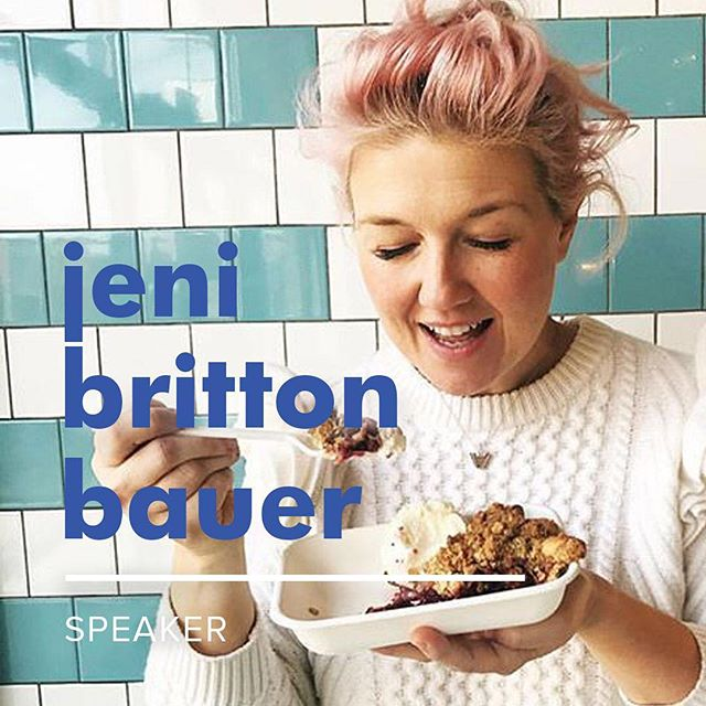 New speaker alert 📣 We're so thrilled to have ice cream icon @jenibrittonbauer of @jenisicecreams on the opening Motherhood x Entrepreneurship panel on September 28th! This year we'll be talking about the good, the bad, & the ugly that comes along with business ownership, and we especially admire Jeni for bouncing back from a 2015 listeria crisis that could have grounded her company for good. Raise your✋if you're a Jeni's fan!🍦#ingoodcompany🍦
