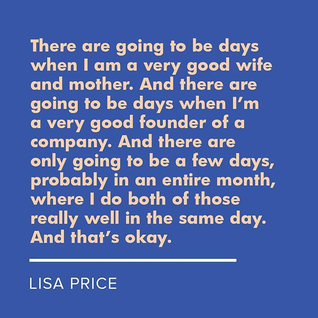 This.💥 From our In Good Company '18 speaker @iamlisaprice of @carolsdaughter in an interview with @missjulee of @essence 💥 Ticket info for #ingoodcompany2018 coming soon!