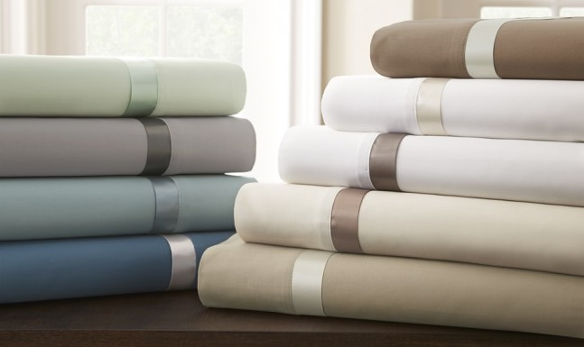 400 Thread Count 100% Cottom Satin Sheet Set