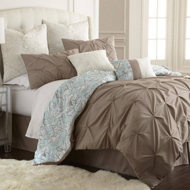 Lorna Flora 8pc Comforter Set Only $100!