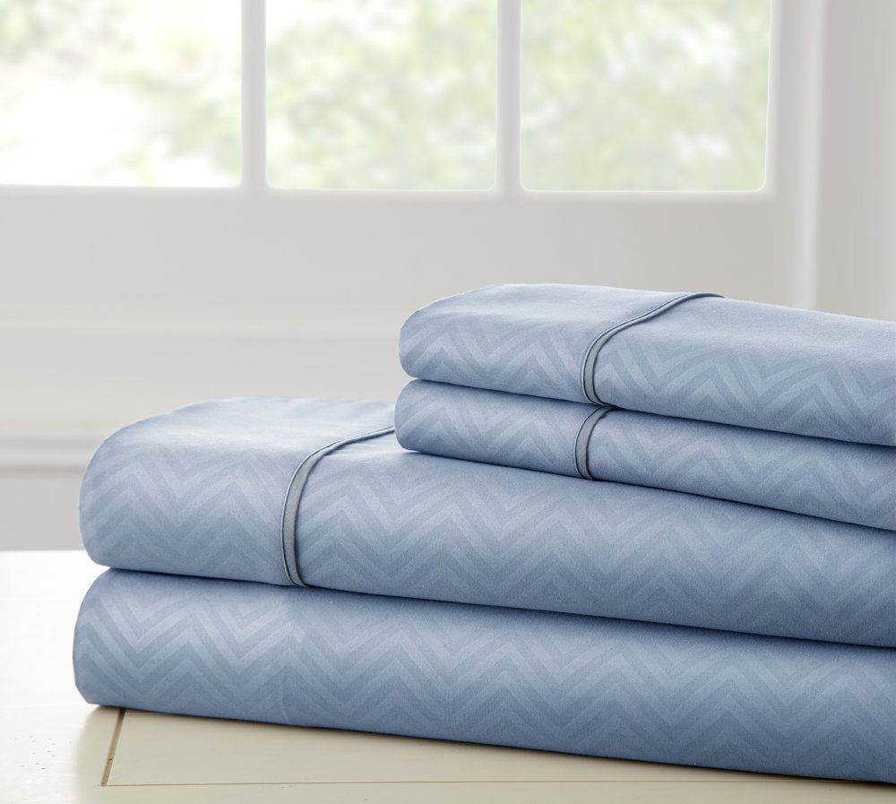 Chevron Embossed Sheet Set