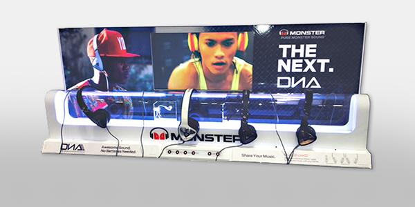 Four Speaker Headset
