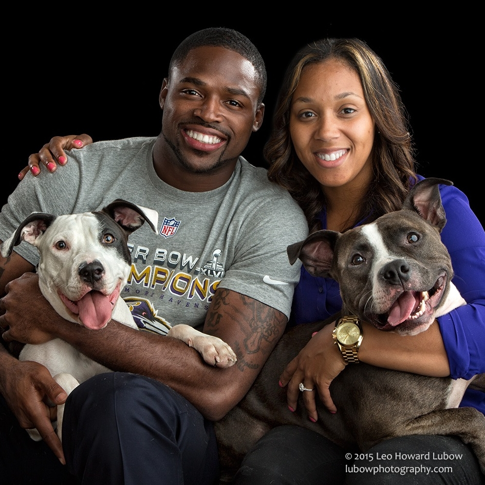 Torrey Smith, Philadelphia Eagles, and wife Channel Smith