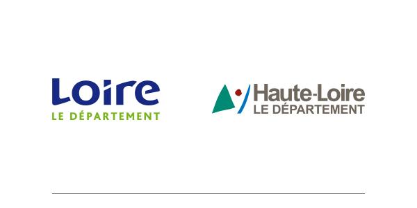 Départements loire et haute-loire - 2018Loire (42), Haute-Loire (43)989 472 habitants