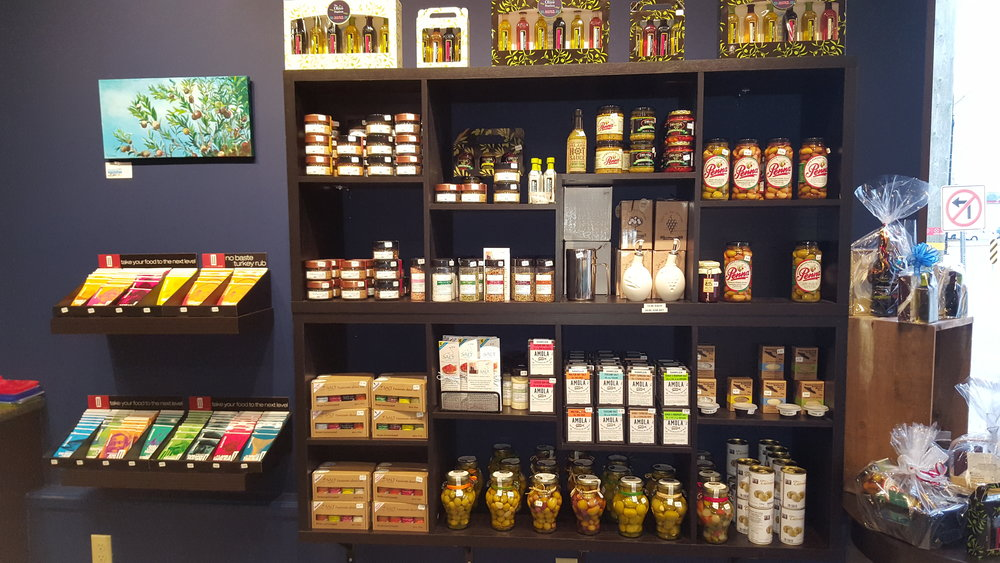 in store the olive station