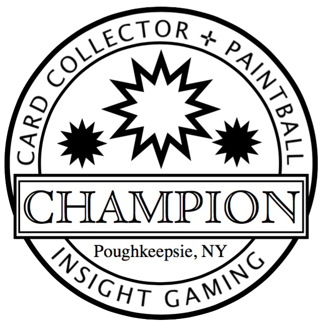 Champion Card & Paintball