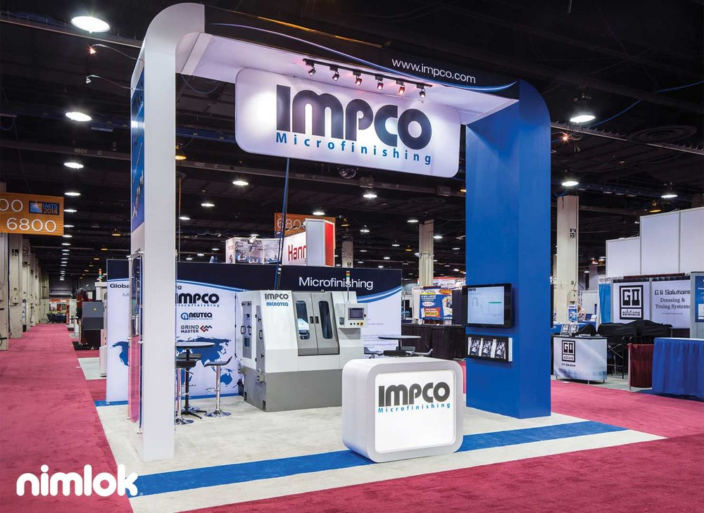 Custom Trade Show Design 20x20 - Impco