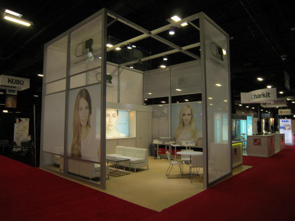 CLR 20x20 Exhibit and Trade Show Design - Nimlok NYC