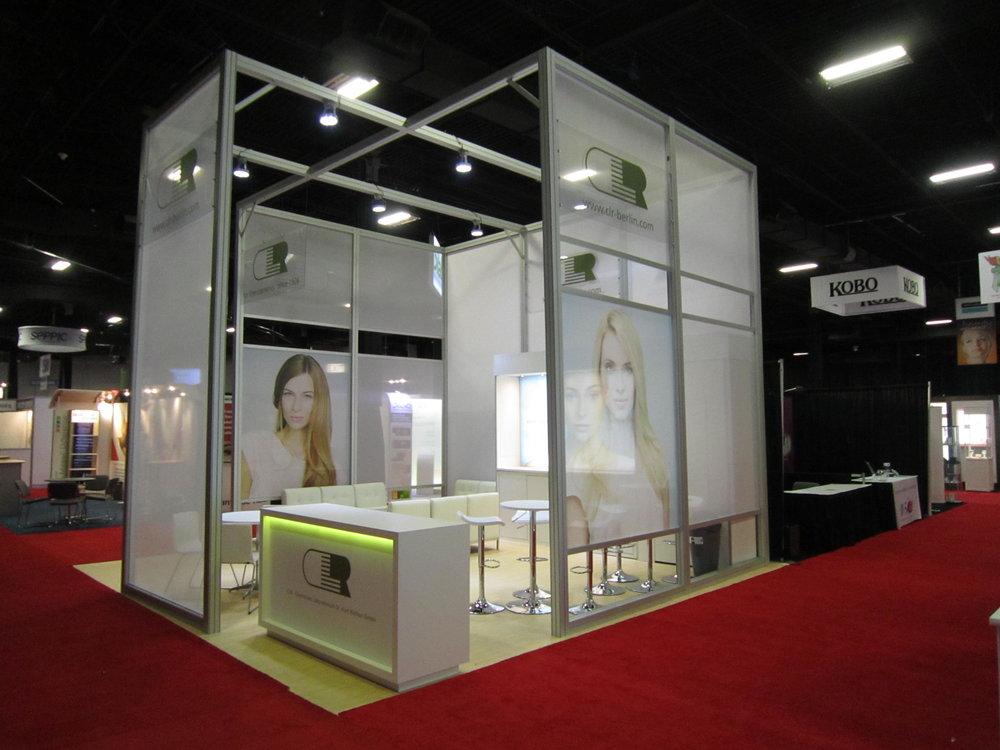 CLR 20x20 Trade Show Display - Nimlok NYC