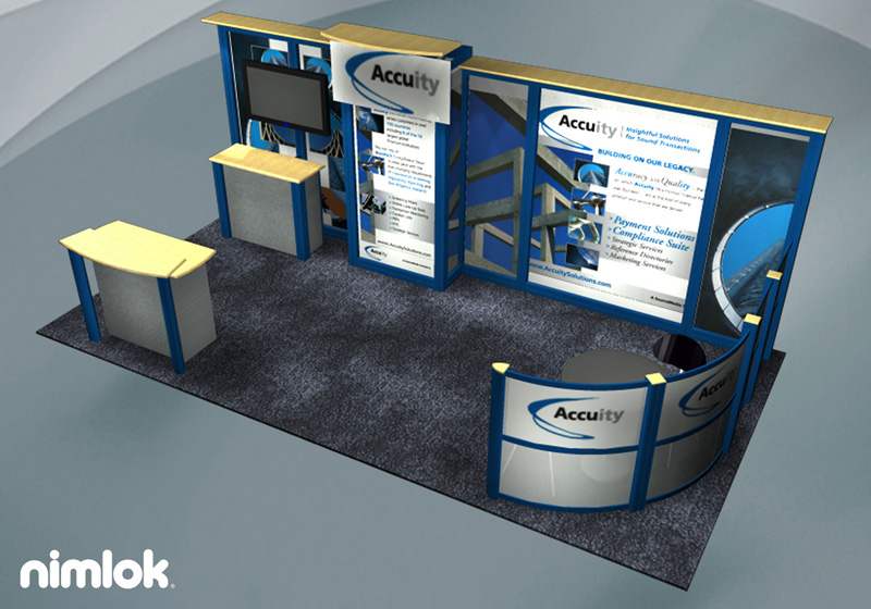 Accuity NYC Trade Show Display - 10x20