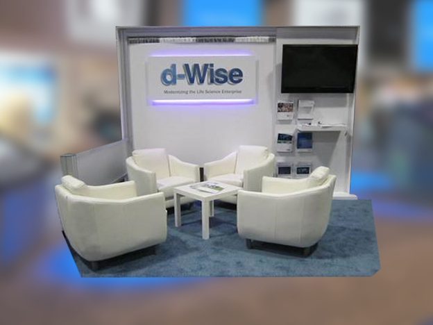 d-wise 10'x20' trade show booth