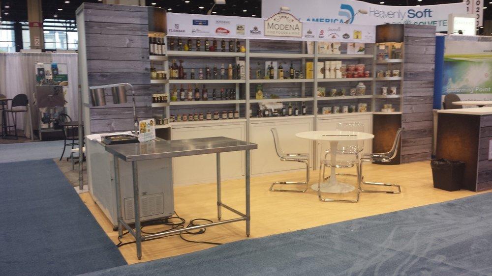 Modena Fine Foods Trade Show Display 10x20