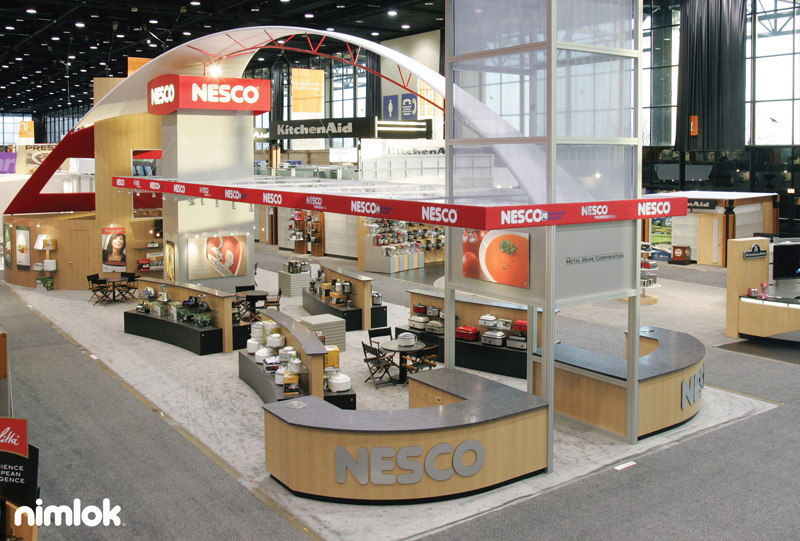Nesco Large Trade Show Exhibit in NYC