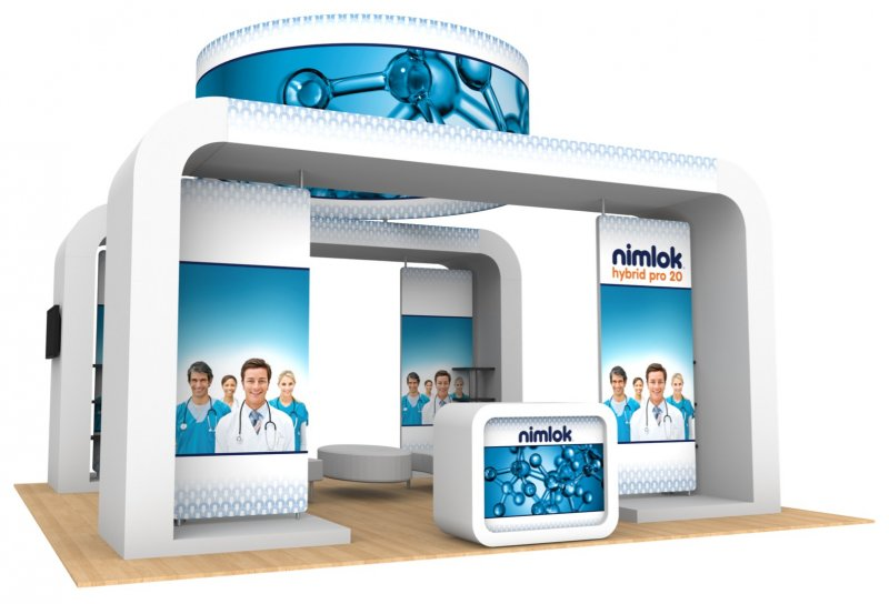 Nimlok NYC Hybrid Booth