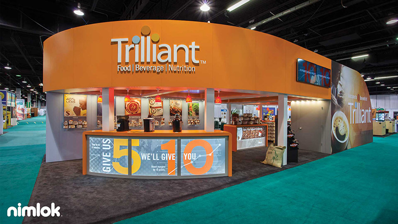 Trilliant Large Trade Show Gallery by Nimlok NYC